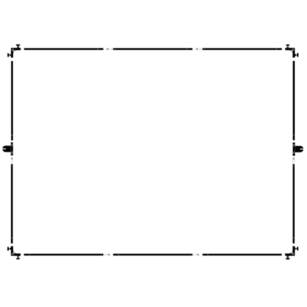 Avenger Modular Butterfly Frame 8 / 12 ft
