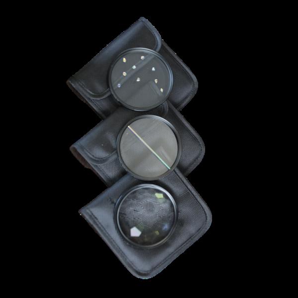 Prism Filter set of 3