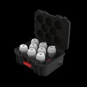 Aputure Accent B7C set of 8 + Charging Case