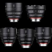 Xeen Samyang lens set